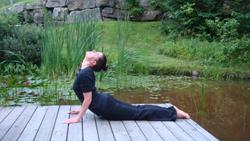 Cours de Yoga Montréal au Travail - Anne Marie Professeure