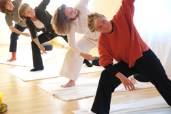 Corporate yoga and Yoga for seniors in Montreal