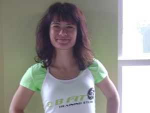 Personal trainer Toronto Anna